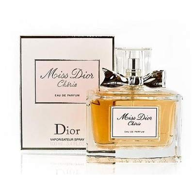 - Ćhristían Díor Miss Díor Cherie Eau de Parfum Spray For Women 3.4 Fl. OZ./100 ml