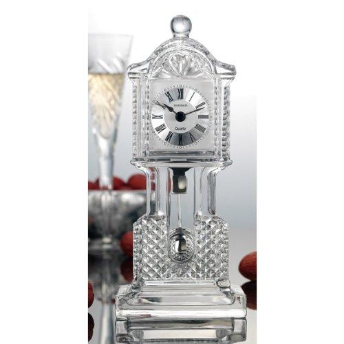 CRYSTAL CROWN GRANDFATHER CLOCK - Clock Godinger