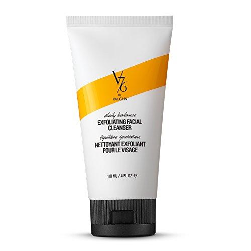 [V76 by Vaughn Daily Balance Exfoliating Facial Cleanser, 4 Fl Oz] (Balance Moisturizing Cleanser)