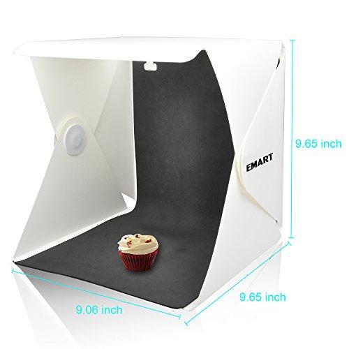emart 40 led foldable portable photo lighting studio shooting tent