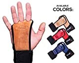 Fit Vikings Workout Gloves with Wrist Wraps - Hand Grips for Palm Protection - for Crossfit,...