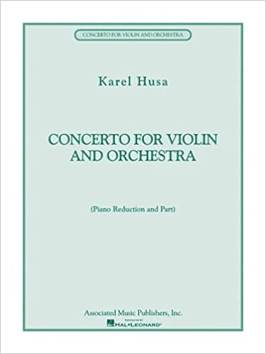 CONCERTO FOR VIOLIN AND      ORCCHESTRA