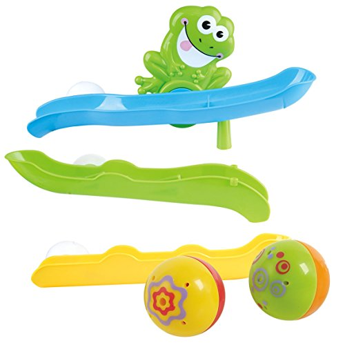 (PlayGo Froggy Pond Tumber with Bath Wall Suction Slides & Water Skiing & Squirting Frog )