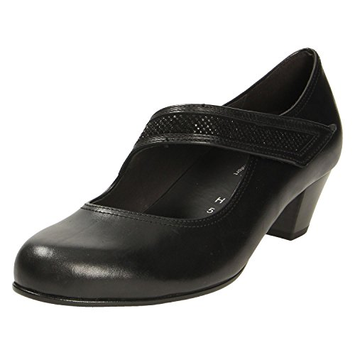 Gabor Black Shoes Women's Women's Court Court Gabor 7p6q4n65