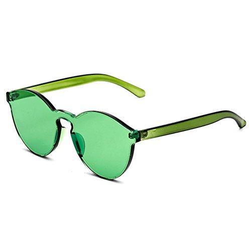 de soleil int¨¦gr¨¦es UV400 lunettes Vert hibote unisexe qF5RCFO