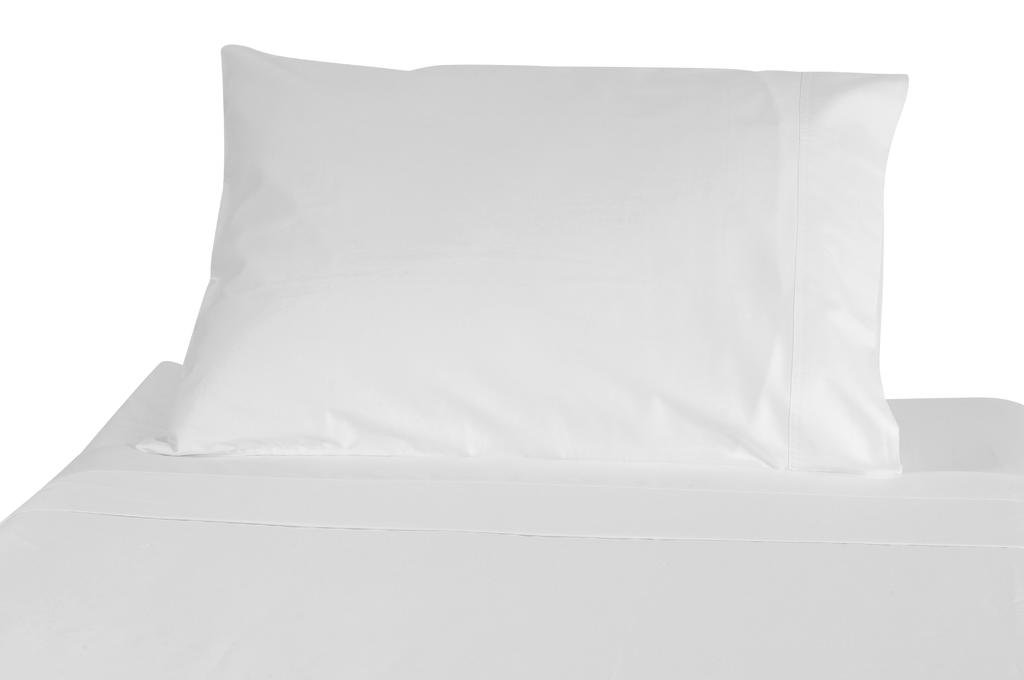 Polycotton Bulk Pack of 24 Standard Size Pillowcases, White 200 Thread Count, 21''x30'' White (Fits 20'' X26'' pillow), 2 Dozen, Perfect for Physical Therapy Clinics, Hotels, Camps by American Pillowcase (Image #6)