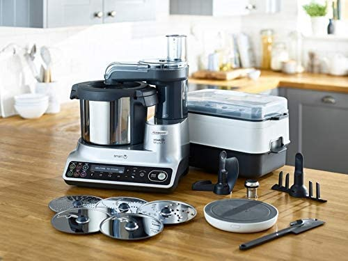 Kenwood LCD de Multi Smart ccl456si – Robot de cocina con Función cocción: Amazon.es: Hogar
