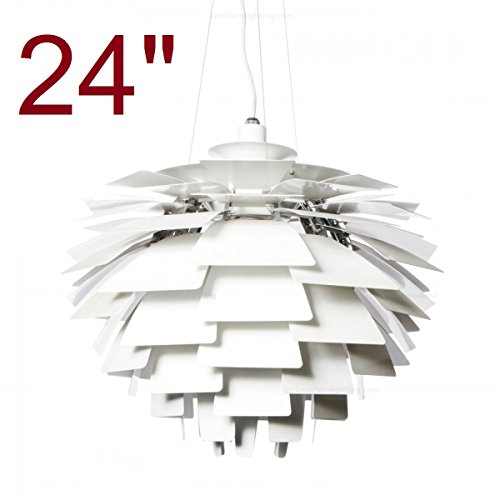 Small Artichoke Pendant Light in US - 3