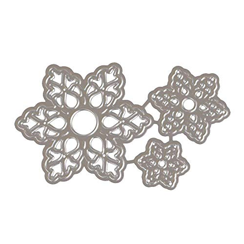 Hot Sale! Hongxin Metal Cutting Dies Layered Sharpe Flower Dies Cut Decorate Scrapbooking Embossing Stencil DIY Album Card Craft Dies Creative Gift For Her by Hongxin (Image #5)
