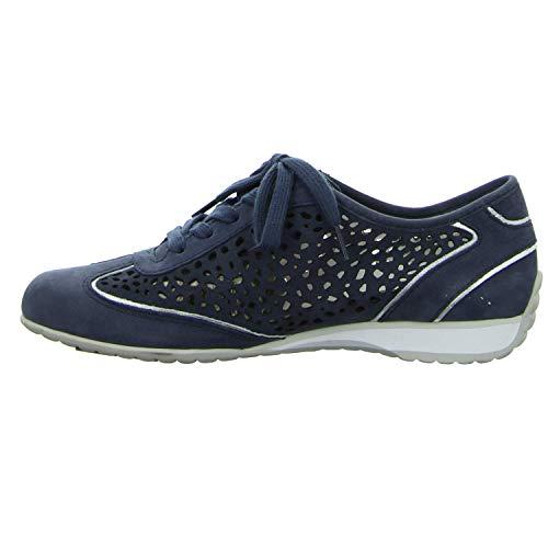 Zapatos 26 Mujer 358 De 46 Gabor Azul Dunkel Para blau Cordones qtOdwn