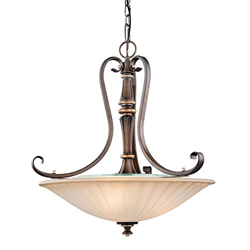 Hampton Bay 17262 Reims 3-Light Berre Walnut (Hampton Bay Fixtures)