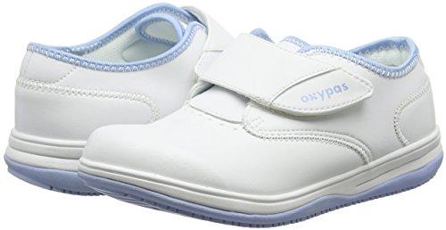 Oxypas Medilogic Emily Slip-resistant, Antistatic Nursing Shoe, White (Lbl), 5 UK (38 EU)