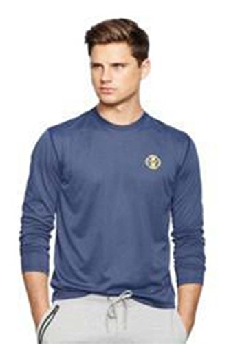 Polo Ralph Lauren Men's Long-sleeved Performance Shirt (Large, Basic Navy)