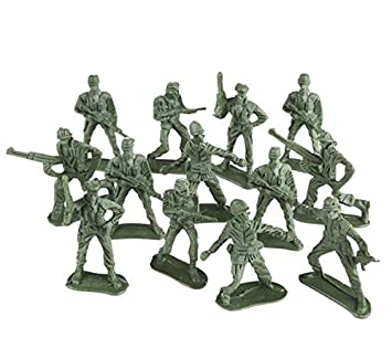 Rhode Island Novelty Classic Toy Soldiers in Assorted Poses | 144 Pieces