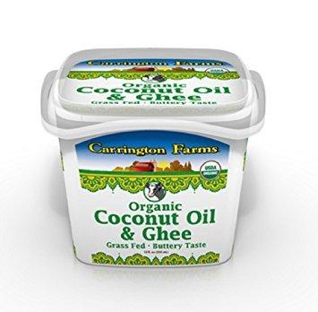 Carrington Farms Organic Coconut Oil & Ghee 12 oz (Pack of 3) by Carrington Farms (Image #1)