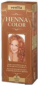 Henna Color 4 Henna Bálsamo Capilar Tinte Para Cabello Efecto De Color Tinte De Pelo Natural Gallina Eco