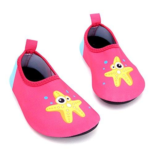 Giotto Enfants Nager Chaussures De Leau À Séchage Rapide Anti-dérapant Pour Les Garçons Et Les Filles B-rose