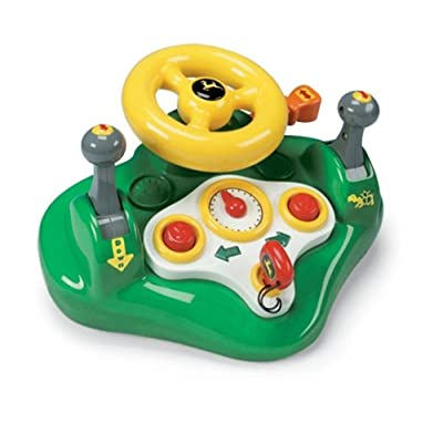 TOMY John Deere Busy Driver: Toys & Games