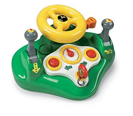 Amazon Com Tomy John Deere Busy Driver Toys Games