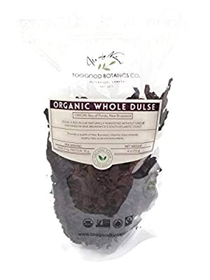 Organic Dulse Whole, Bay of Fundy, New Brunswick, non-GMO, Wild Harvest