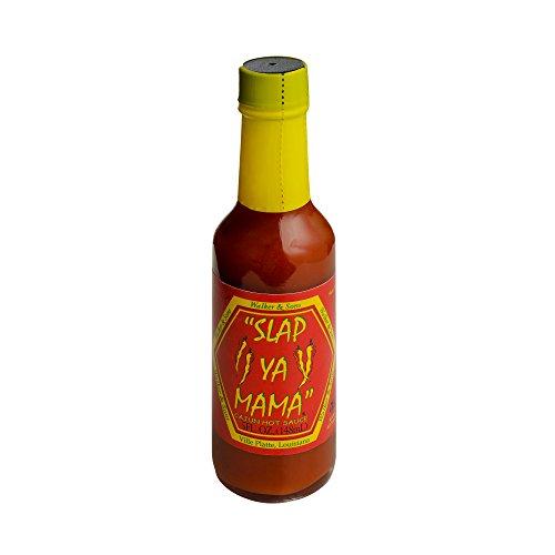 Slap Ya Mama Hot Sauce Singles (Cajun Hot (Hot Sauce Seasoning)
