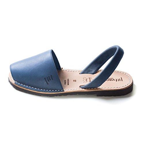 VISCATA Menorca Classic Women's Avarca Sandals azul celeste