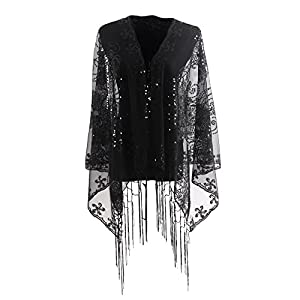 Shawls and Wraps for Evening Dresses,Wedding Shawl and Wrap,Scarves with Fringes