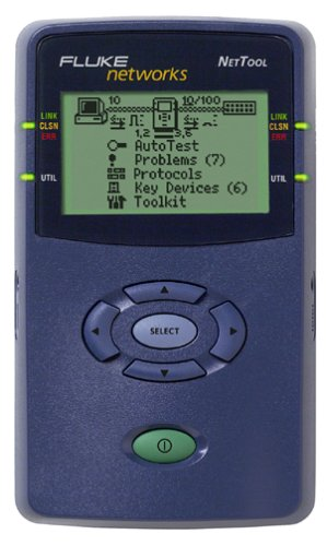 Network Cable Analyzer - Fluke Networks NT-PRO NeTool Network Cable Tester