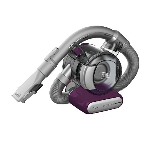 Hand Vac Hose - BLACK+DECKER HFVB320J27 Eggplant Lithium Flex 2 Ah Hand Vacuum