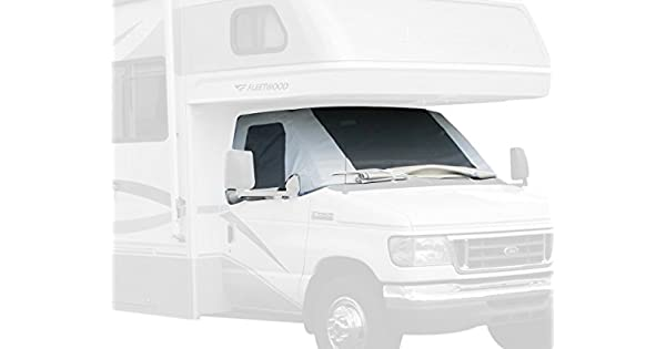 ADCO 2509 Clear RV Windshield Cover Renewed