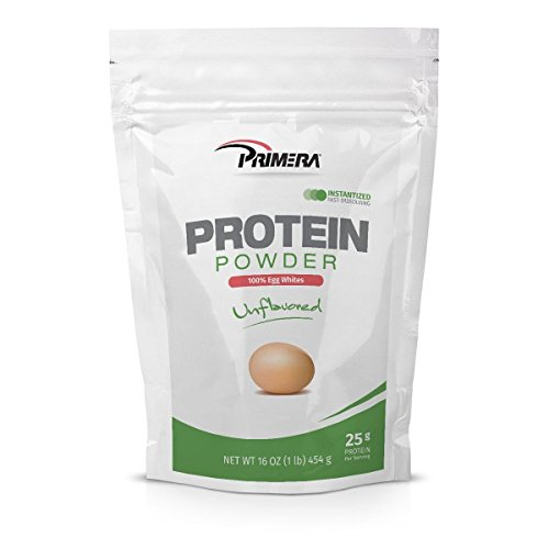 Primera Protein Powder – Egg White Unflavored 1 Pound