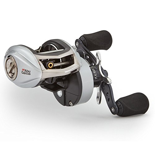 Abu Garcia RVO3 STX-HS-L Revo STX Low-Profile Baitcast Fishing Reel, High Speed, Left Hand