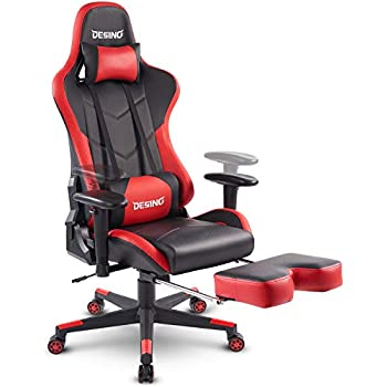 Amazon.com: Unifull Ergonomic Large Size Computer Racing Gaming ...