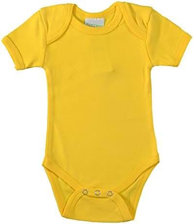 PAM baby blank cotton one piece under bodysuit