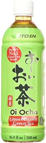 Ito En Oi Ocha Green Tea, Unsweetened, 16.9 Fluid Ounce (Pack of 12)