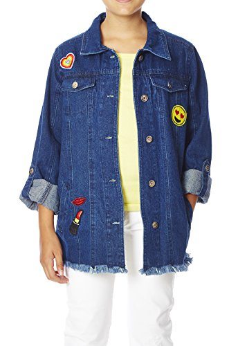 Patchwork Girls Jacket - 9