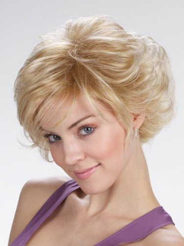 Tony of Beverly Womens Synthetic Wig ''Frenchy''-Amber Velvet: 33 w/130/31 hi-lights (Amber Wig)