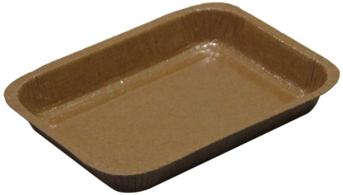 Solut 91136 Kraft Paper Entree 1/8 Sheet Baking Tray, 20-...