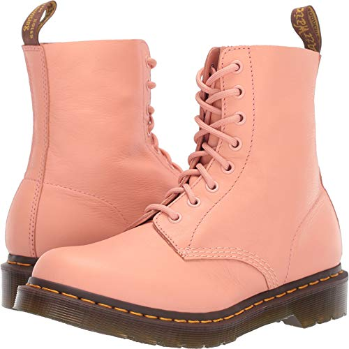 (Dr. Martens Women's 1460 Pascal Virginia Salmon Pink 8 M UK)