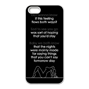 Unique Design Durable Hard Cover Case Cover for Iphone 5,5S Phone Case - Arctic Monkey HX-MI-1611801