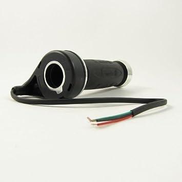 Amazon.com: Universal 12 V 24 V 36 V 48 V negro eléctrico ...