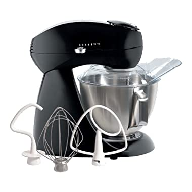 Hamilton Beach Electrics 63227 All-Metal Stand Mixer, Licorice
