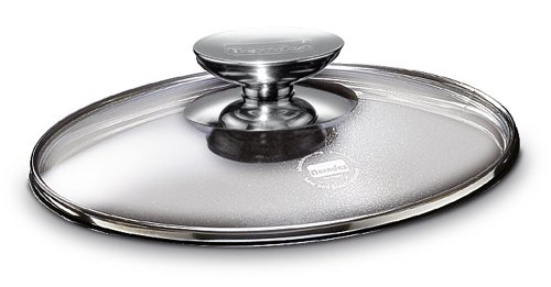 Berndes Tempered Glass Lid with Stainless Knob, 12.5