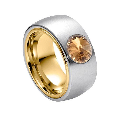 Edelstahl Kristalle Zirkonia Ringe Ring Mit Damen Light Grossen Ring