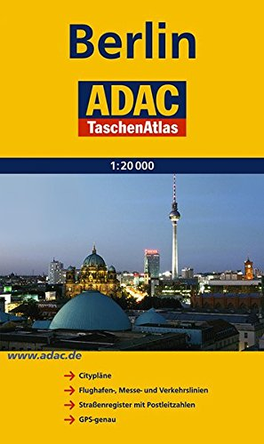 ADAC TaschenAtlas Berlin 1:20 000 (ADAC Stadtatlanten)