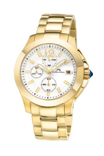 Porsamo Bleu Luxury Harper Stainless Steel Gold Tone Women s Watch 521BHAS