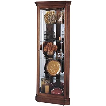 Amazon.com: Howard Miller 680-345 Lynwood Curio Cabinet: Kitchen ...