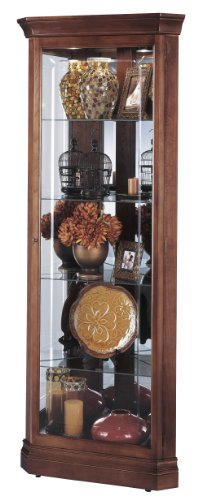 Howard Miller 680-345 Lynwood Curio (Corner Style Curio Display Cabinet)