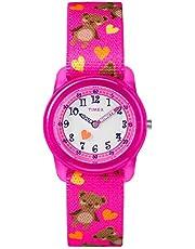 Timex Mädchen-Armbanduhr Analog Textil