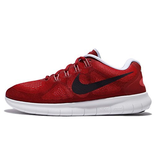 NIKE Men's Free RN 2017, University Red/Port Wine, 10.5 M US